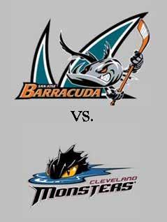 Barracuda vs Monsters